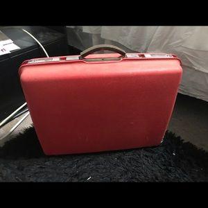 Handbags - Vintage hard shell samsonite luggage
